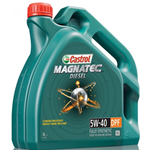 OLIO MOTORE CASTROL MAGNATEC 5W-40 DPF, FULLY SYNTHETIC, DIESEL ENGINES, LT.4