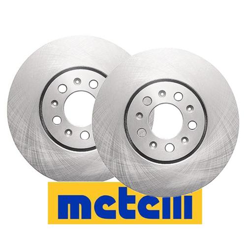 Certificato ECE R90 Kit Composto da 2 Dischi Freno Pezzo di Ricambio per Auto//Automobile metelligroup 23-0615C Disco Freno Verniciato