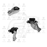 Kit 3 supporti motore SMART FORTWO COUPE W451 0.8 CDI AKRON (KSM9/313)